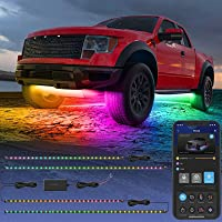$49 » Govee Exterior Car LED Lights, RGBIC Underglow Car Lights with App and Remote…