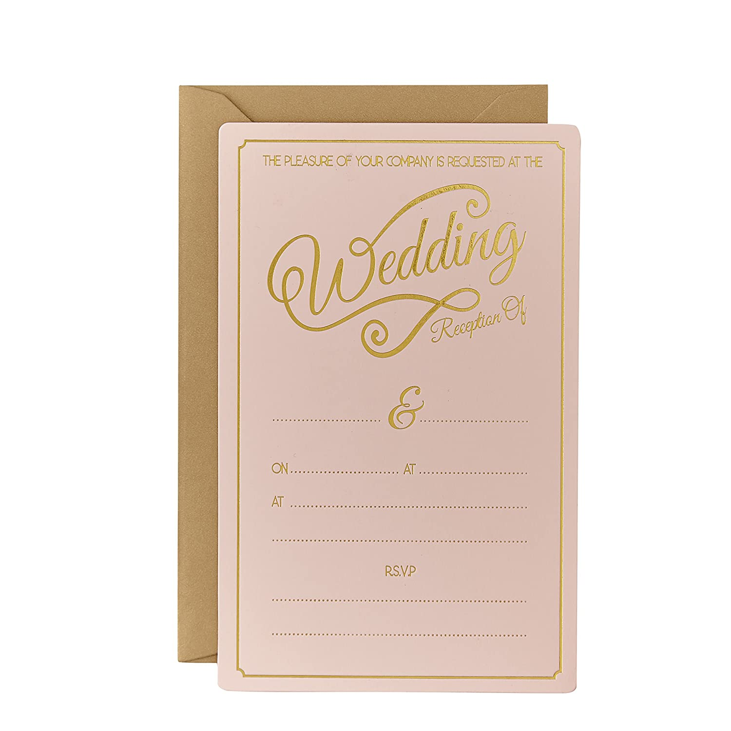 amazon com ginger ray evening wedding reception pastel gold
