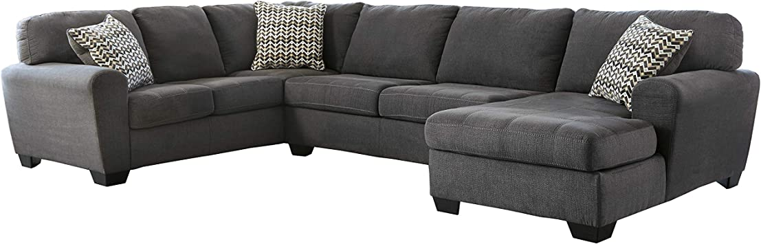 Amazon.com: Flash Furniture Benchcraft Sorenton Sectional in ...