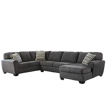 Amazon.com: Flash Furniture Benchcraft Sorenton Sectional in ...
