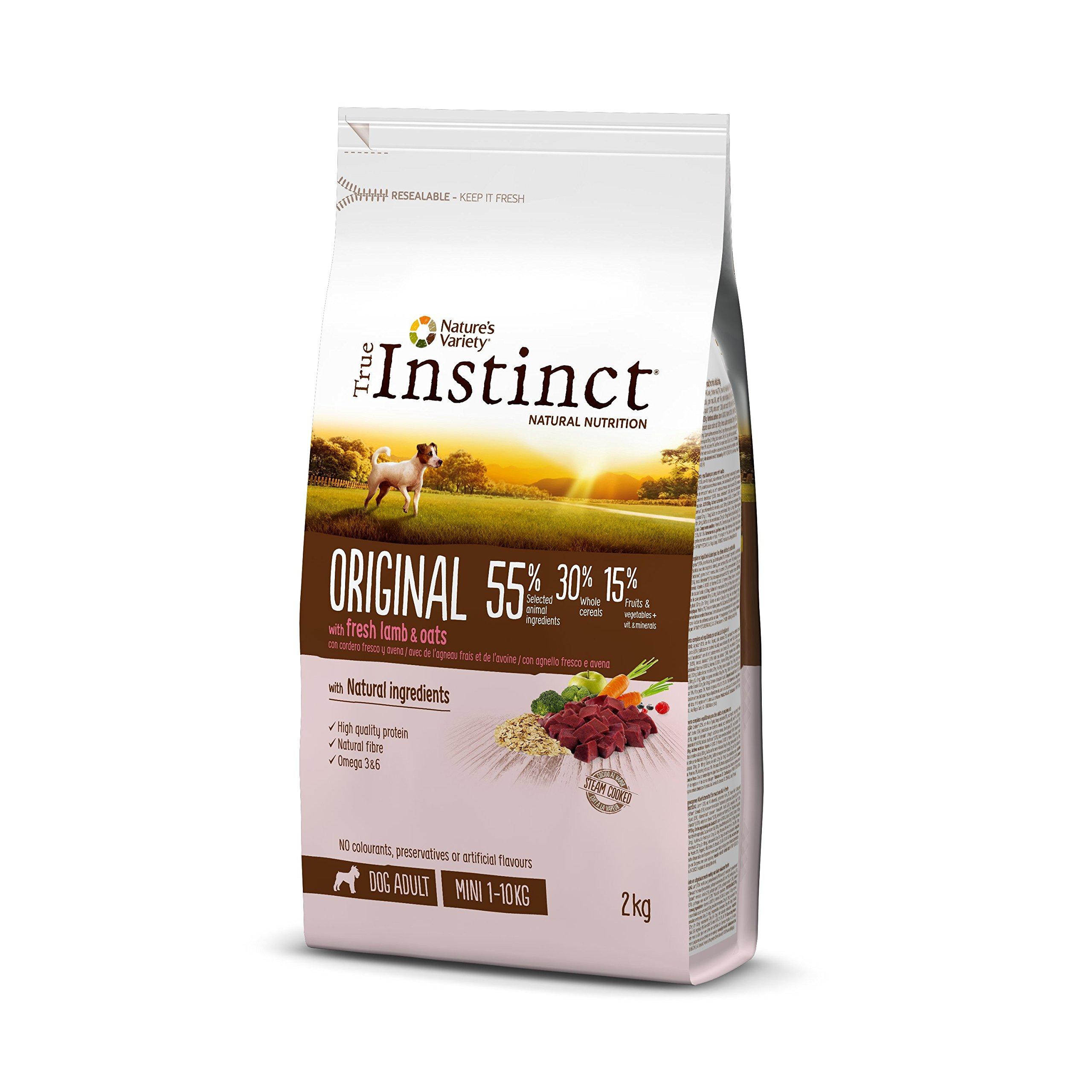 True Instinct Original Pienso para Perros Mini Adultos con Cordero - 2 kg product image