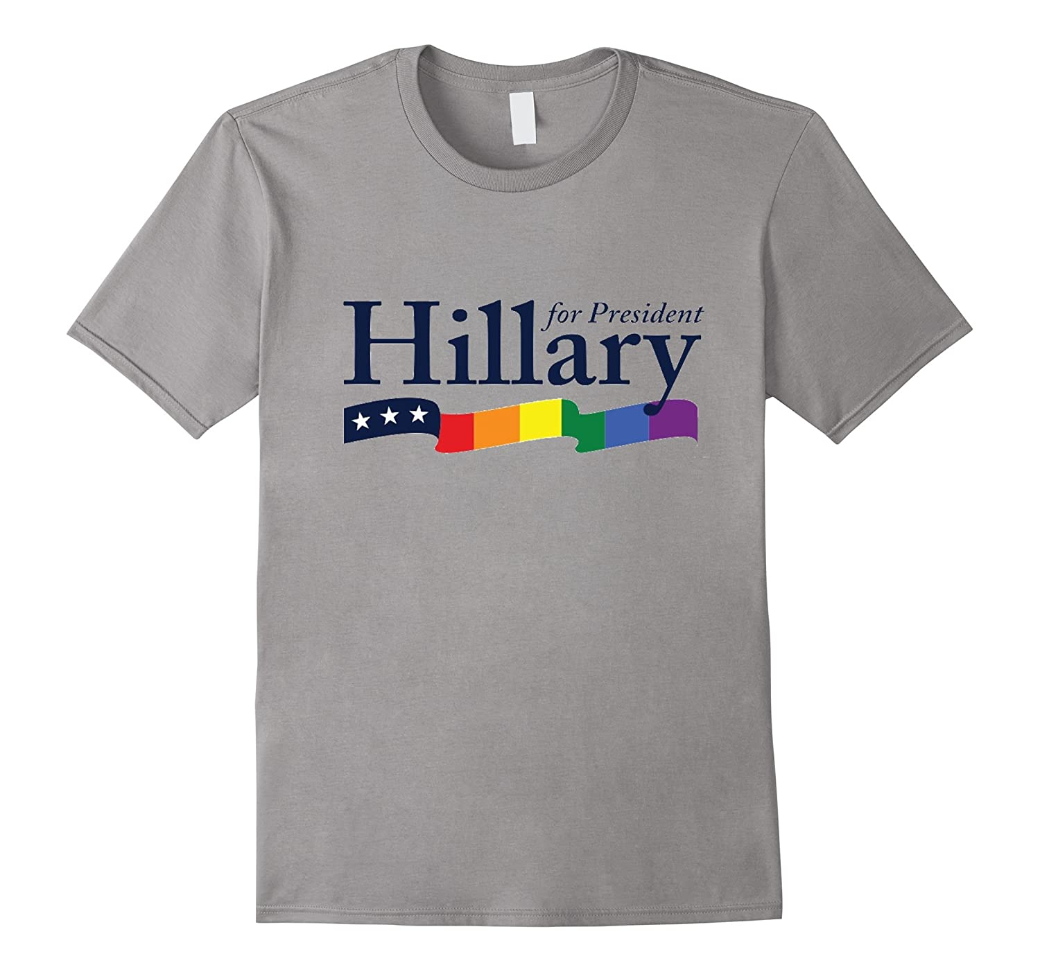 Hillary for President T-Shirt Gay Pride Marriage Equality-BN