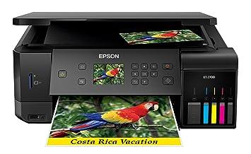 Epson ET-7700 EcoTank Expression A4 Colour Inkjet Printer: Amazon ...