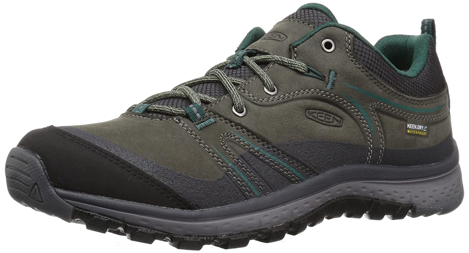 KEEN Women's Terradora Leather Wp-w Hiking Shoe B01N64XQ5T 7 B(M) US|Mushroom/Magnet