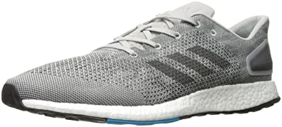 adidas Performance Mens Pureboost Dpr Running Shoe Grey Five Dark Solid  Grey Grey