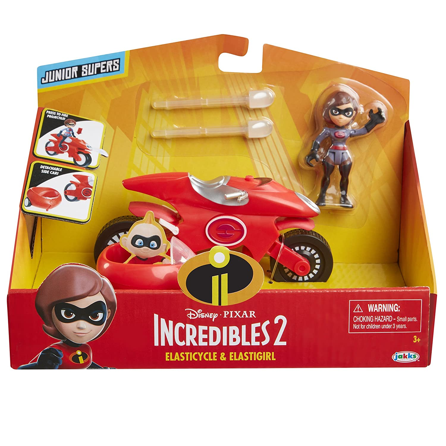 Incredible Junior Supers Action Figure Play Set The Incredibles 2 Incredibile Car /& Mr