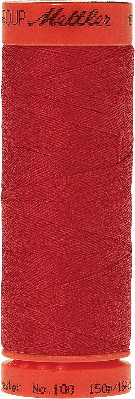 Dark Charcoal 165 yd Mettler 9161-0416 Metrosene 100-Percent Core Spun Polyester Thread