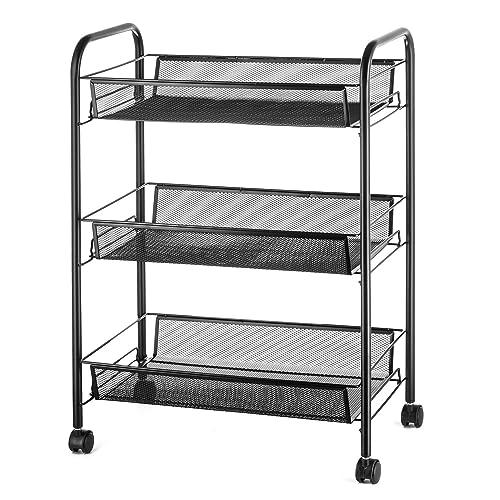 3 tier cart. Black Bedroom Furniture Sets. Home Design Ideas