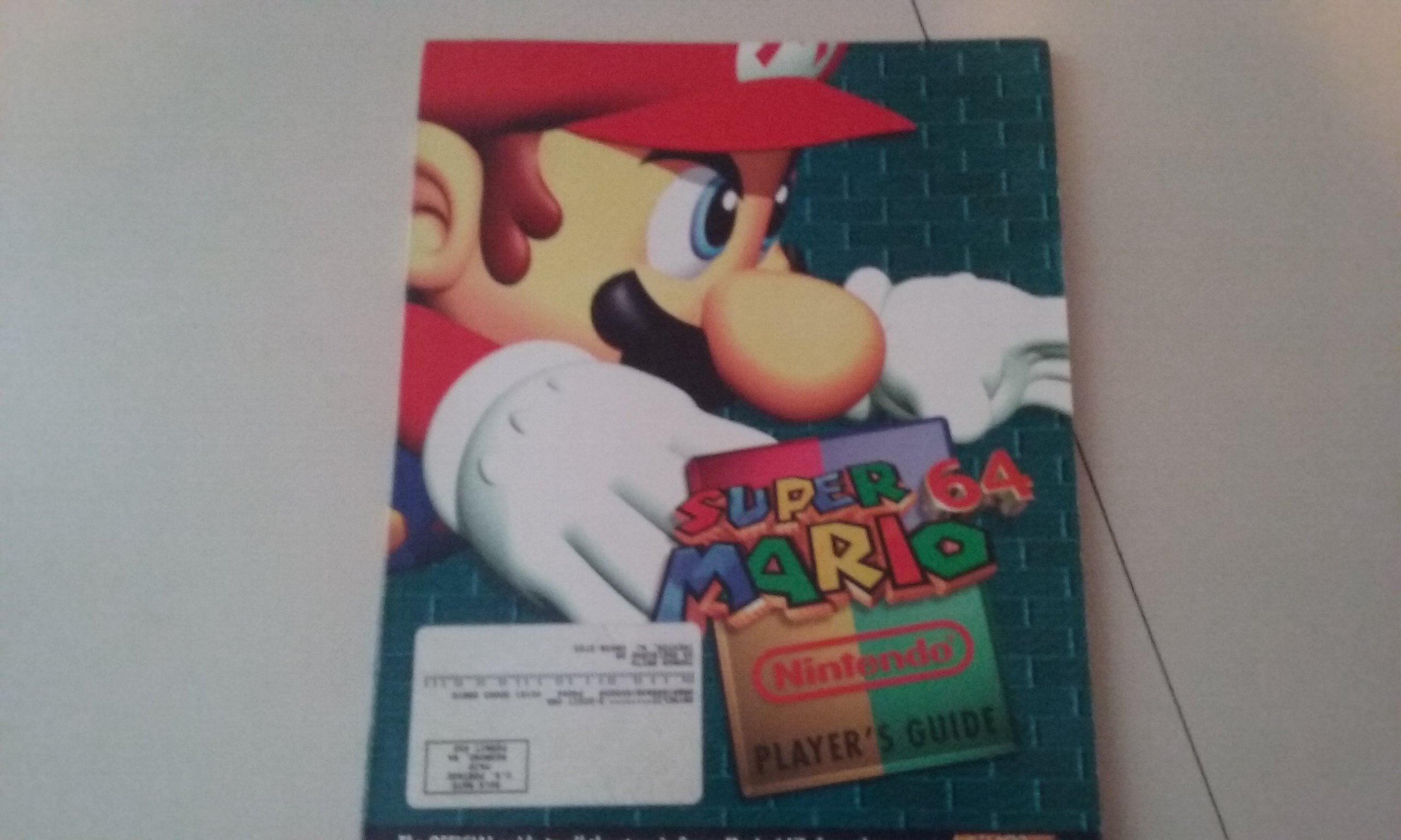 Super Mario 64 Player's Guide: Gail Tilden: 0045496691110