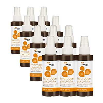 Mountain Falls 3% Hydrogen Peroxide Topical Solution First Aid Antiseptic