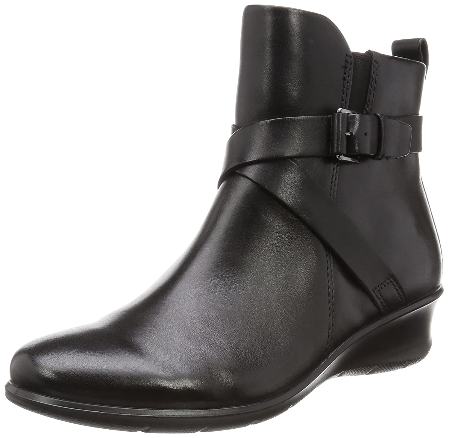 ECCO Women's Felicia Ankle Buckle Boot B01AAUGMU6 37 EU/6-6.5 M US|Black