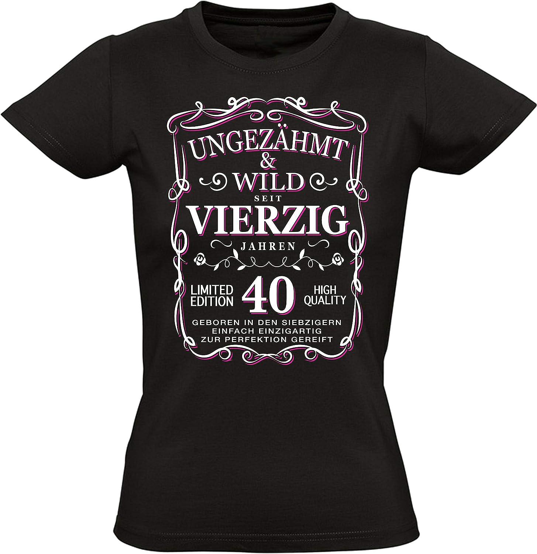 Damen Fun T-Shirt zum 30//40//50//60  Geburtstag,Happy Birthday Geburtstagsshirt