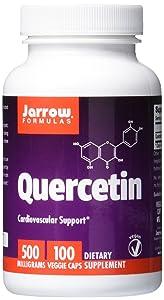 Jarrow Formulas Quercetin, Cardiovascular Support, 500 mg, 100 Veggie Caps