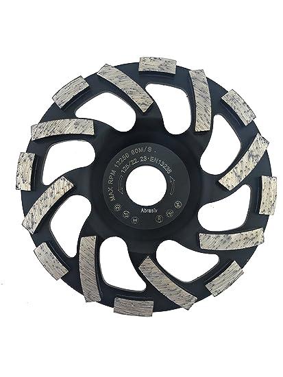 PRODIAMANT Muela de copa de diamante profesional TURBO abrasivo pavimento, asfalto, enlucido, materiales