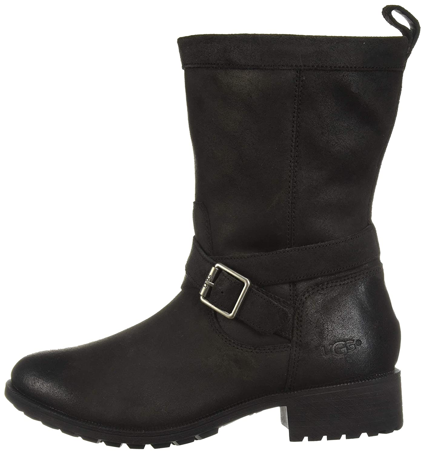 c8fa3025d7c UGG Women's W Glendale Boot Fashion, Black, 6.5 M US