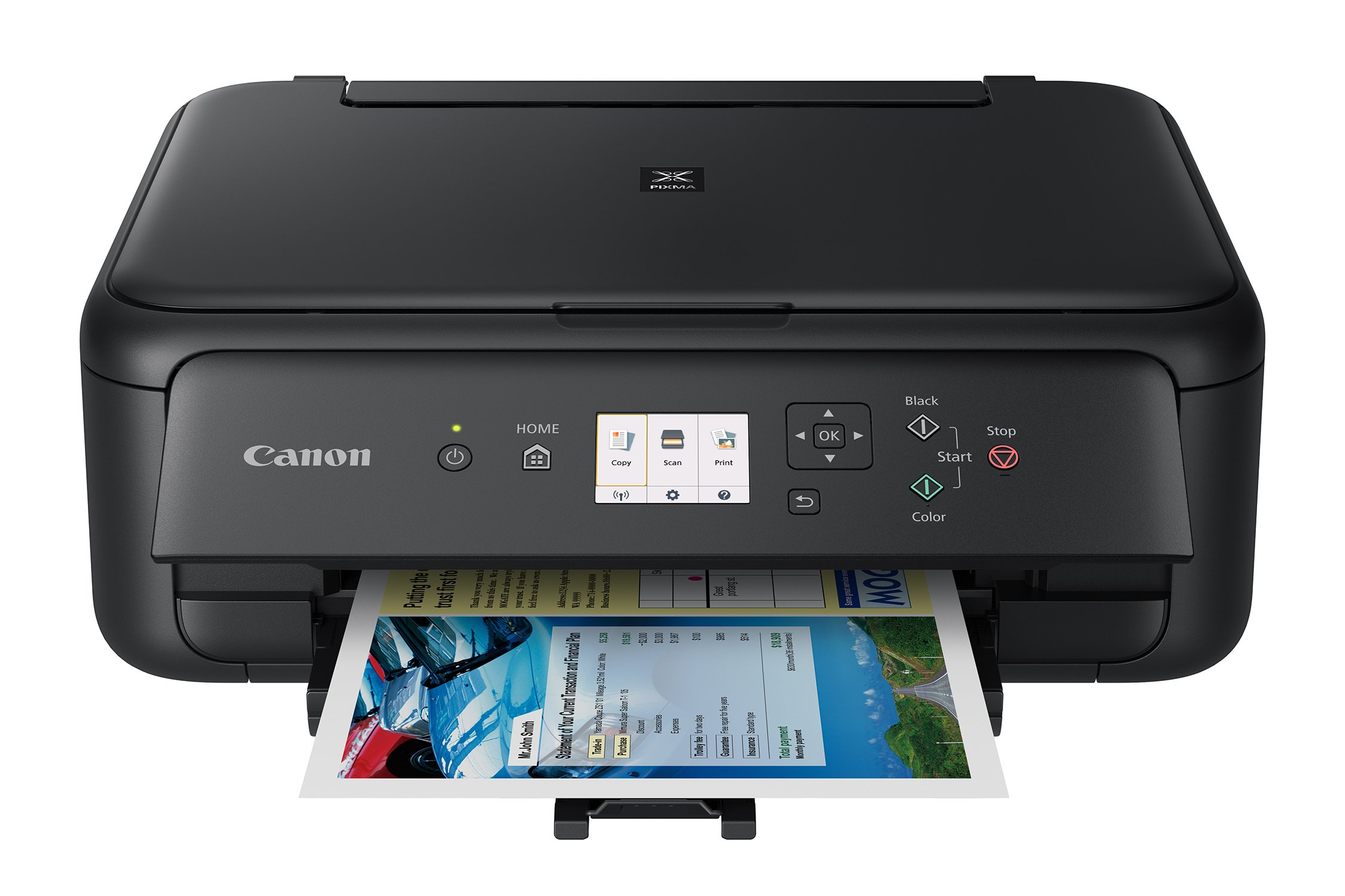Canon TS5120 Wireless All-In-One Printer with Scanner and Copier: Mobile and Tablet Printing, with Airprint(TM) and Google Cloud Print compatible, Black by Canon