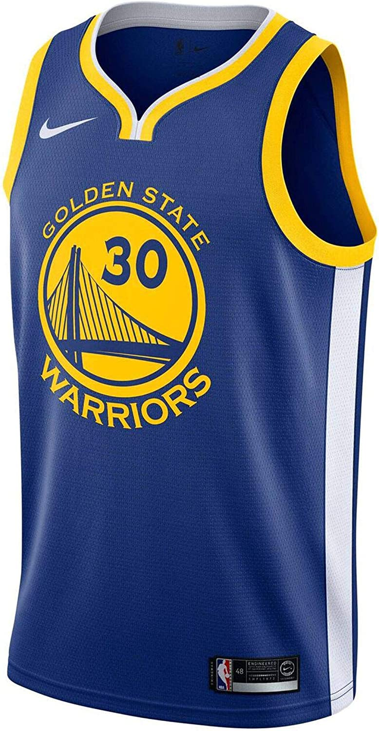 Nike Stephen Curry Golden State Warriors Icon Edition Swingman Jersey Blue