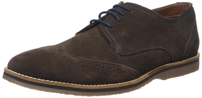 Hush Puppies Sebastian Wingtip, Zapatos de Cordones Derby para Hombre