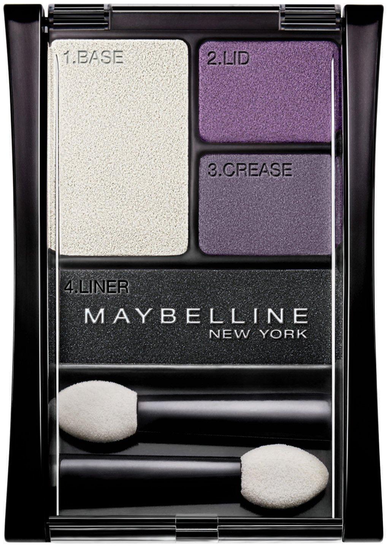 Maybelline New York Expert Wear Eyeshadow Quads, Amethyst Smokes, 06, 0.17 Ounce