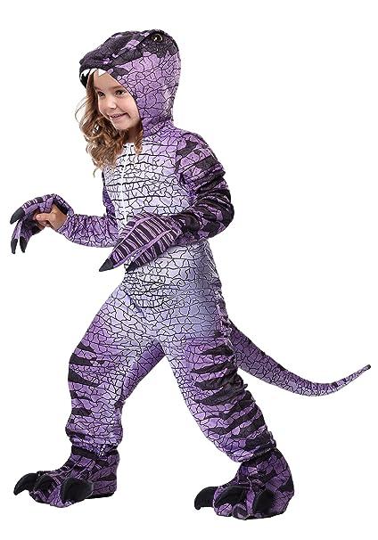 Amazon.com: Disfraz de dinosaurio Ravenous Raptor para niñas ...