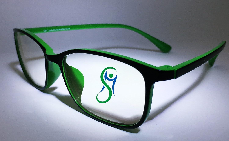 ... (100%) con lentes Neutre anti deslumbramiento, anti radiación electromagnética. Gafas Anti affaticamento visión para PC, Tablet, Smartphone, Gaming, TV, ...