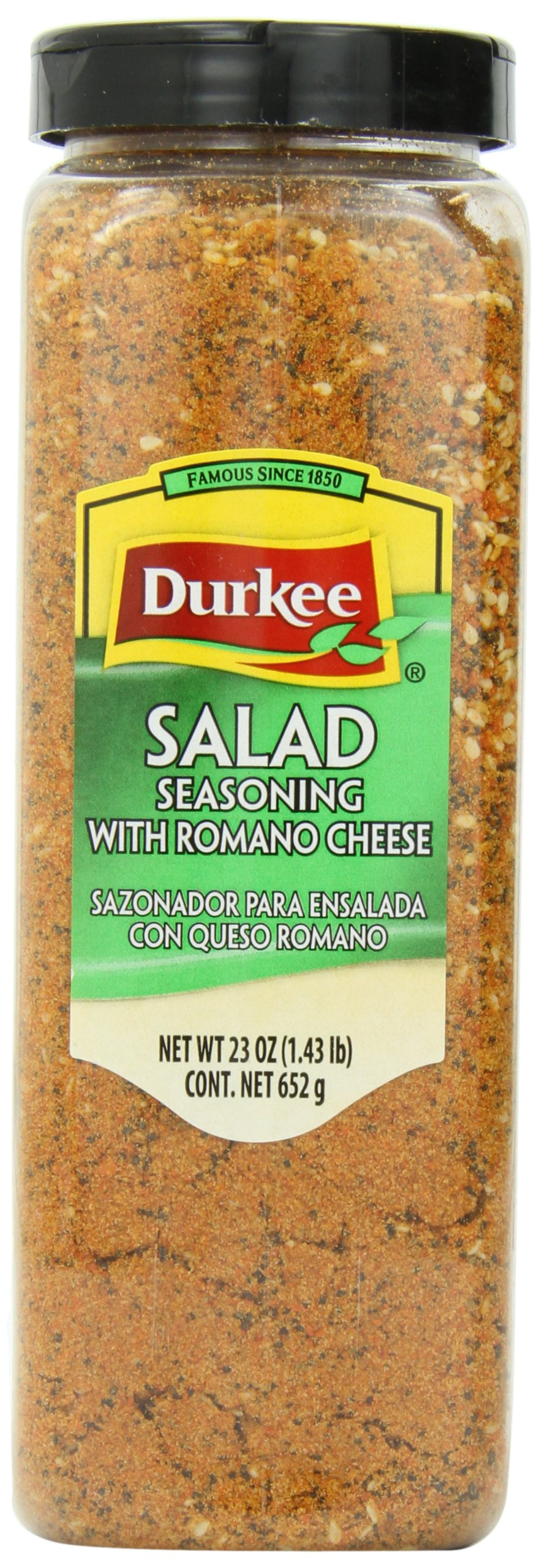 Durkee Salad Seasoning with Romano Cheese, 23-Ounce