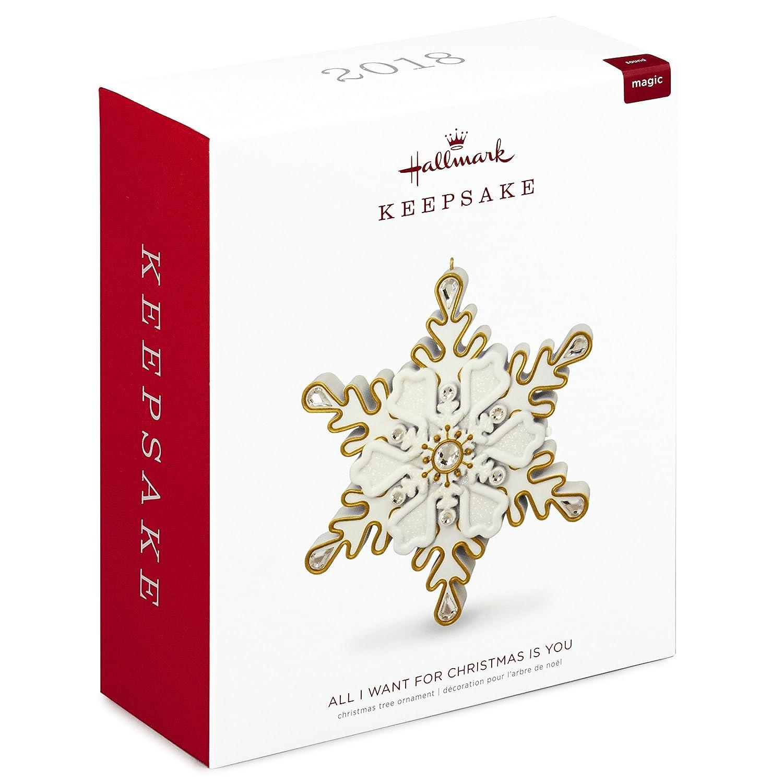 Amazon.com: Hallmark Keepsake Christmas Ornament 2018 Year Dated ...