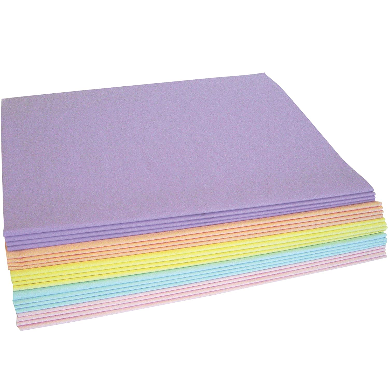 20 x 30 480//Case Tissue Paper Assortment Pack Pastel