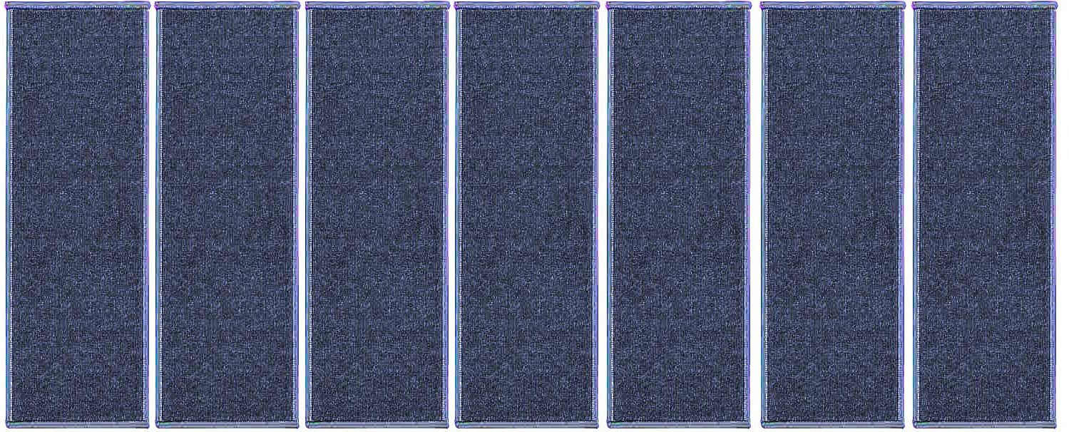 Ambiant Indoor Outdoor StairThreads Violet 9'' x 36'' (set of 7) - Area Rug