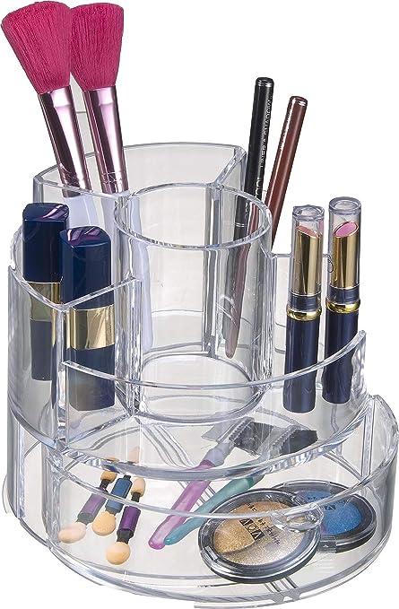 Amazon.com: Decozen Organizador de cosméticos cilíndricos ...