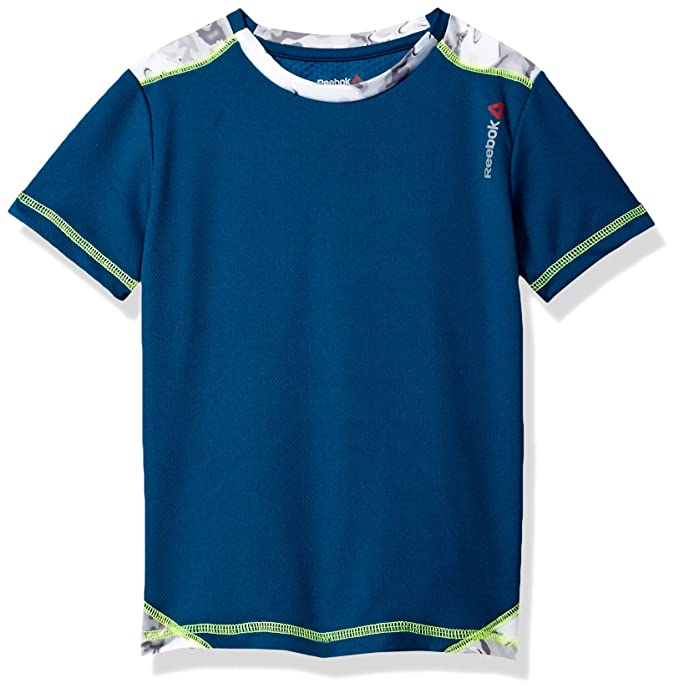 8b65fbd07d8 Reebok Boys' Sport Short Sleeve T-Shirt: Amazon.in: Clothing & Accessories