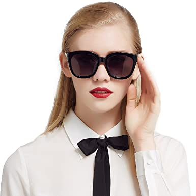 e491dee05283 Jimmy Orange Polarized Classic Sunglasses Womens Mens Vintage Wayfarer  J5103 Black: Amazon.co.uk: Clothing
