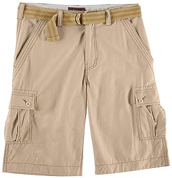 69541e5155 Wearfirst Mens Solid Cargo Shorts 30W Chinchilla Beige