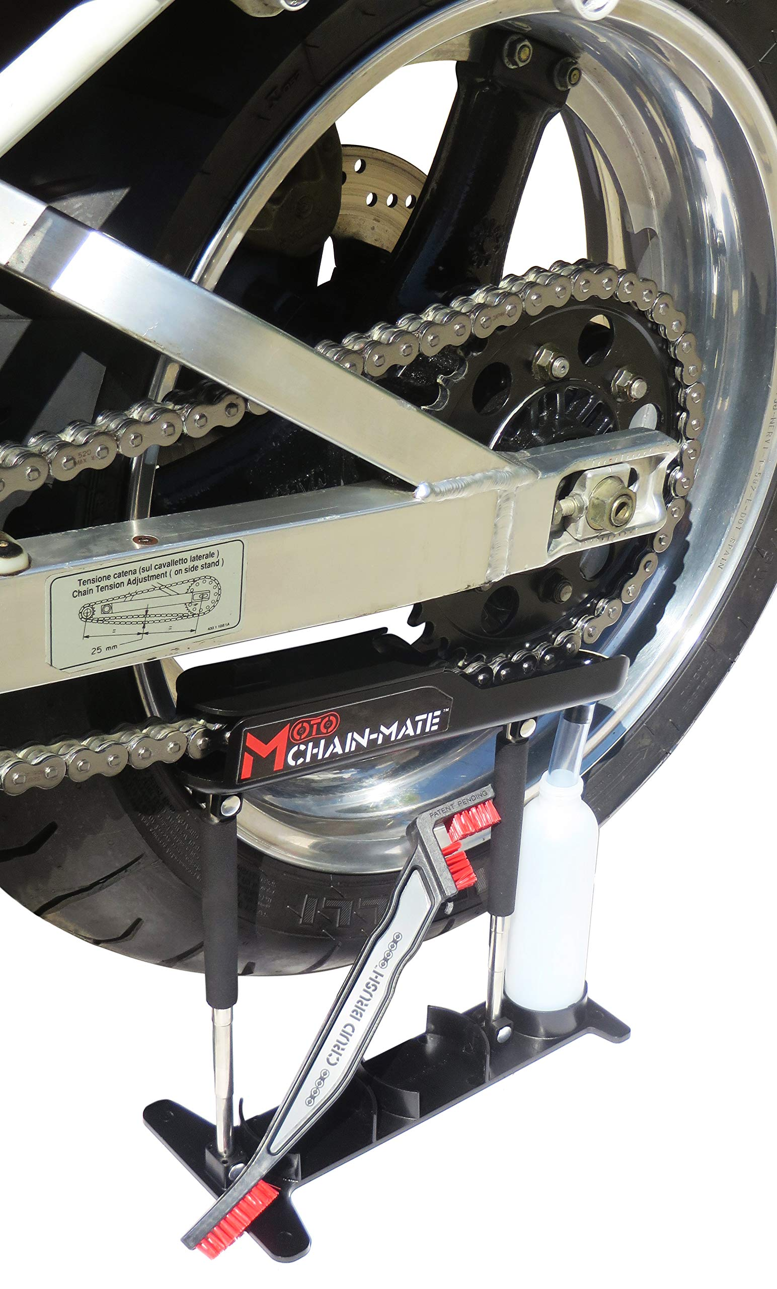 Moto Chain-Mate - The Ultimate Motorcycle Chain Cleaning and Lubrication Kit ! by Gearhead Zone