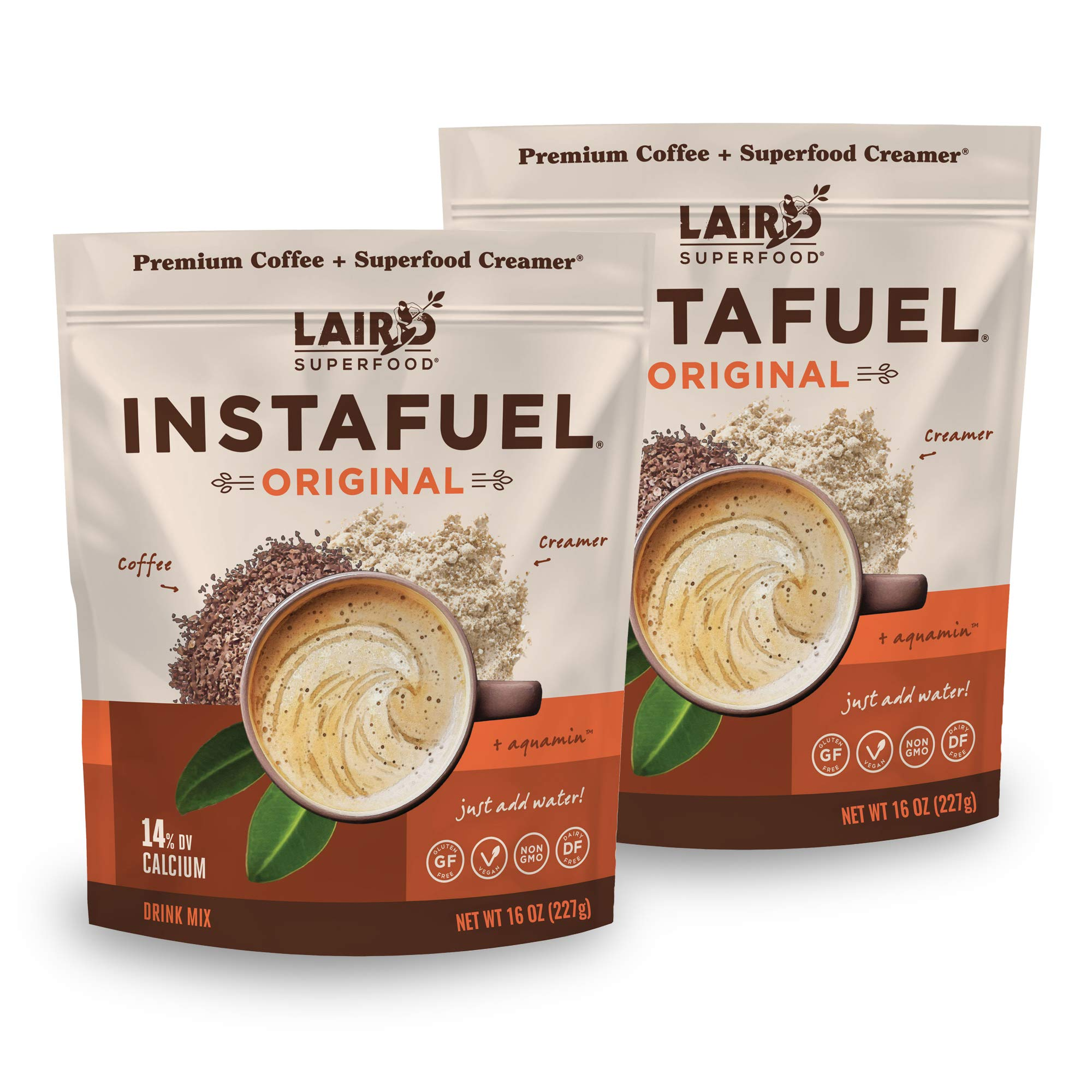 Laird Superfood Instafuel Instant Coffee, 2 lb by Laird Superfood