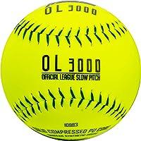 "Franklin Sports Tournament Play Slow Pitch Softball, 12.0"""