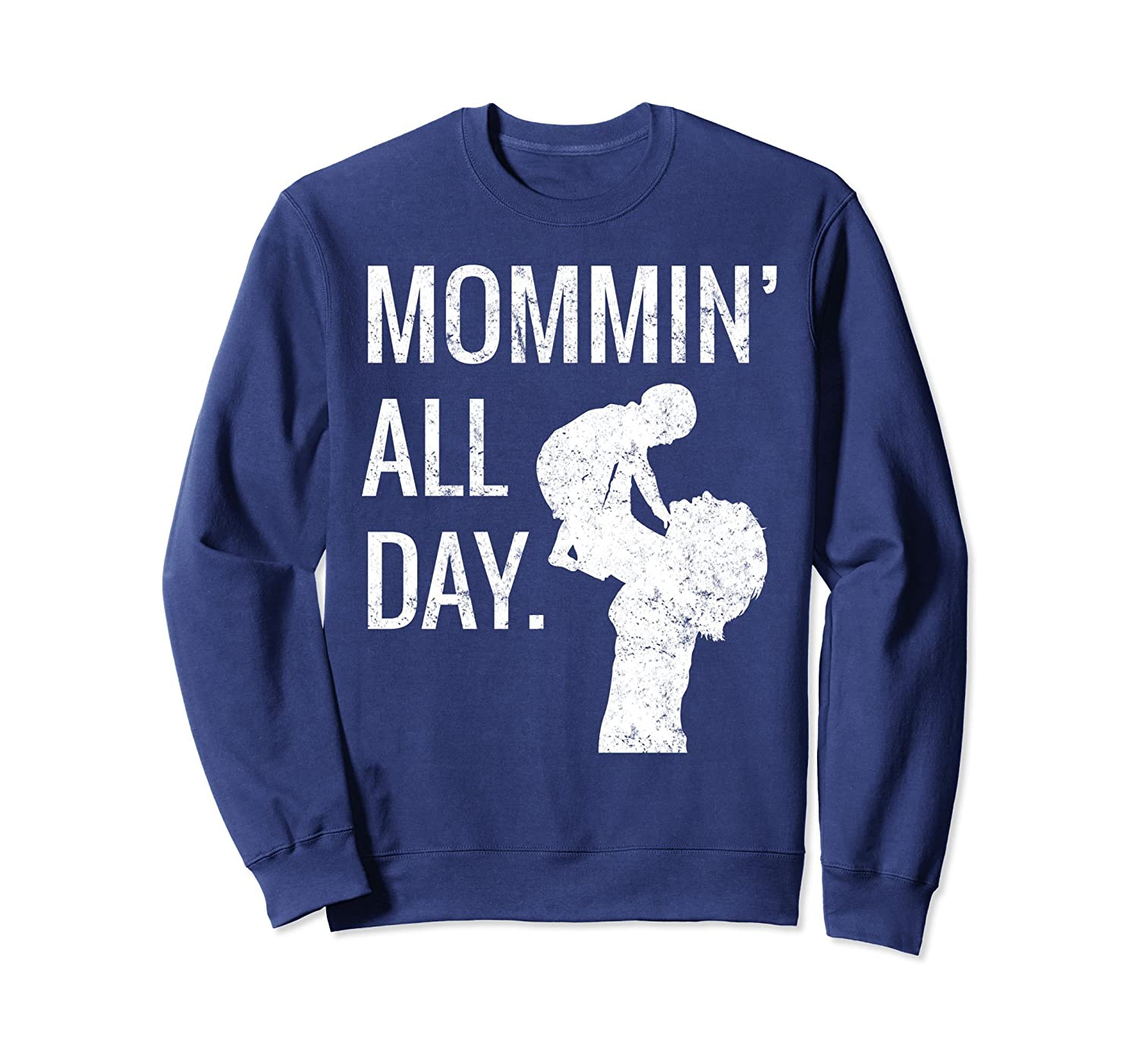 Mommin All Day Retro Mothers Day Gift Cute Mamas ...