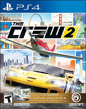 Amazon Com The Crew 2 Gold Edition Playstation 4 Ubisoft