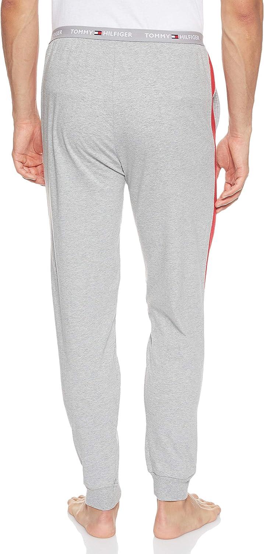 Tommy Hilfiger Jersey Panel Pant Pantalones t/érmicos para Hombre
