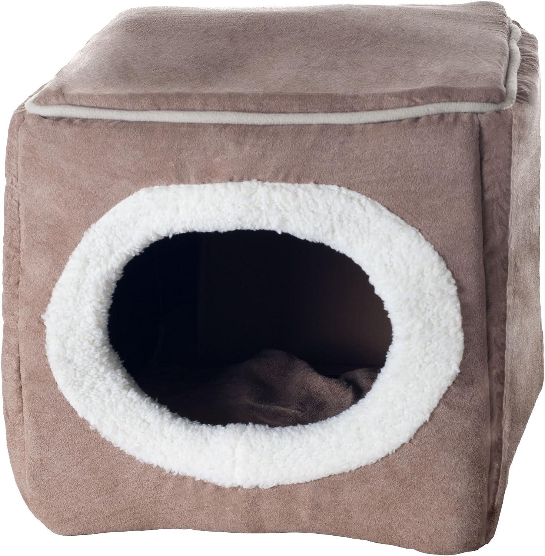 Amazon.com: Cama para mascota en forma de cubo cerrado: Mascotas