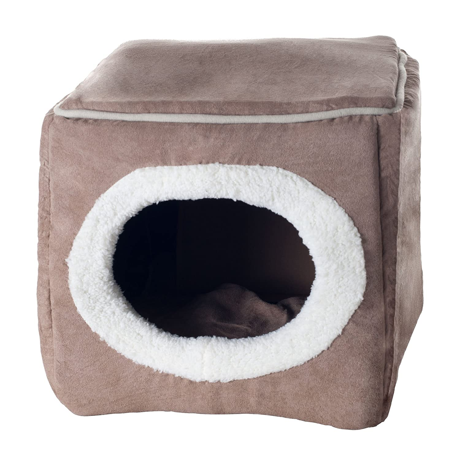 cave products cozy snoozer clemson bed nesting luxury dog microsuede