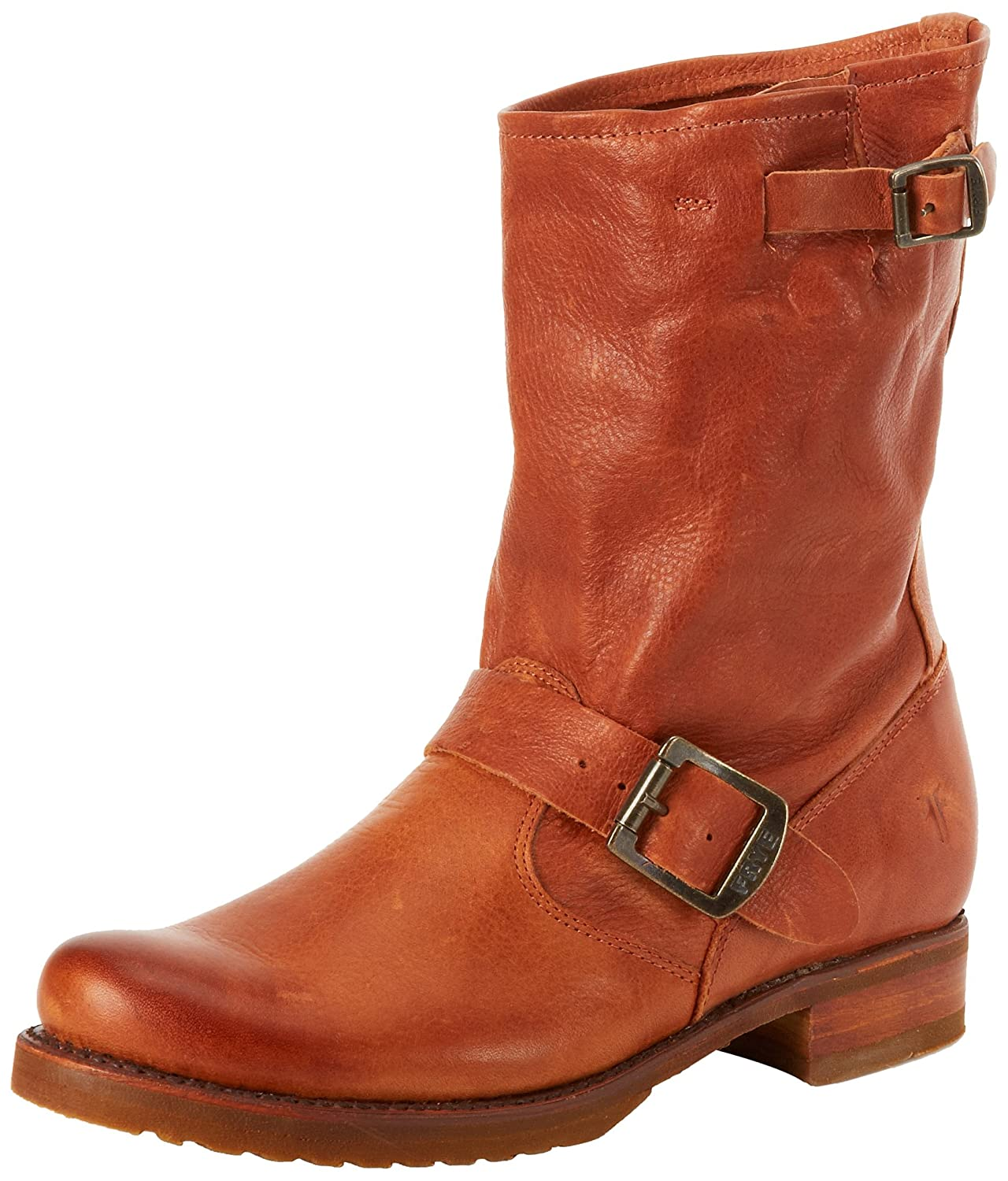 FRYE Women's Veronica Short Boot B008BUL2NK 7.5 B(M) US|Whiskey Soft Vintage Leather-76509