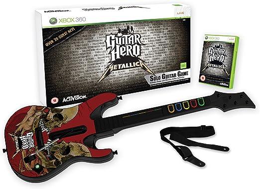 Guitar Hero: Metallica - Guitar Bundle (Xbox 360) [Importación ...