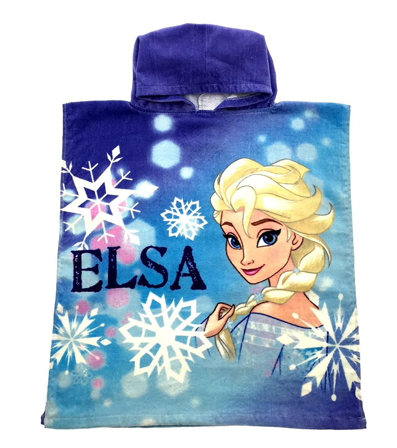 Disney Frozen/Sofia The First Hooded Poncho Beach Towel Swim Cover-up Childrens Kids Girls One Size 10578#WH26001