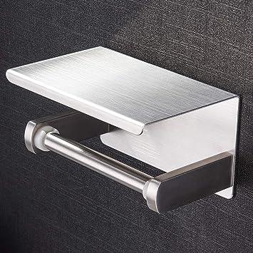 Toilettenpapierhalter ohne bohren Klopapierhalter Selbstklebend Papierhalter DHL
