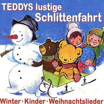 Lustige Weihnachtslieder.Teddys Lustige Schlittenfahrt Kinder Weihnachtslieder
