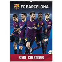 Calendario 2019-12 láminas A3 FC.Barcelona
