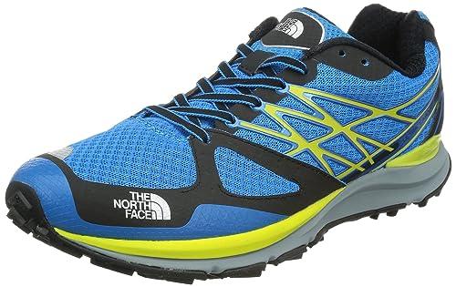 The North Face M Ultra Cardiac, Zapatillas de Deporte Exterior para Hombre, Azul/Amarillo, 47 EU: Amazon.es: Zapatos y complementos