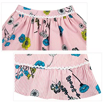 Benito /& Benita Girls Floral Skirt Boho Twirl A-line Flare Printed Skirt Chintz Girls Birthday Skirt