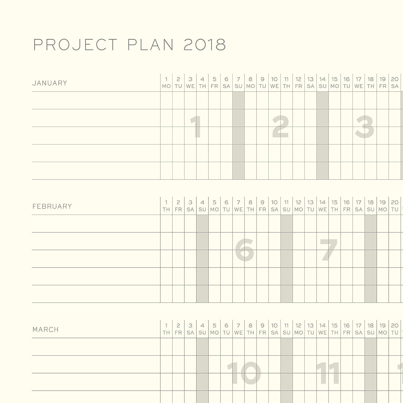 LEUCHTTURM1917 355179 Weekly Planner & Notebook Medium (A5) 2018, Emerald, English